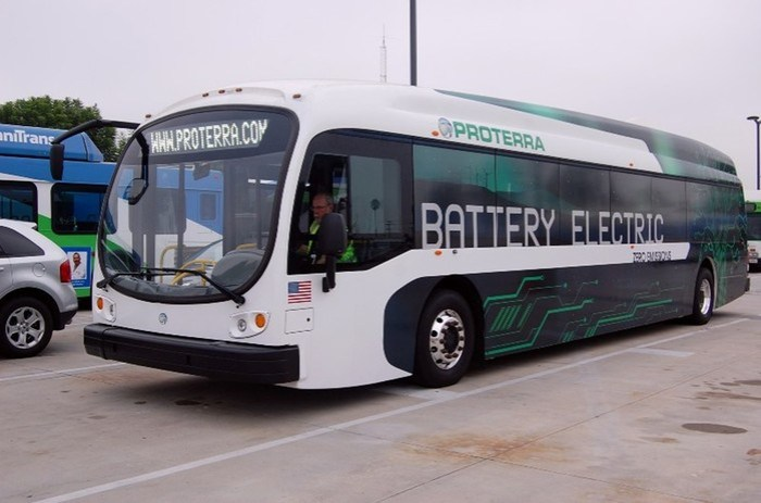 В Лос Анджелесе появится парк электрических автобусов