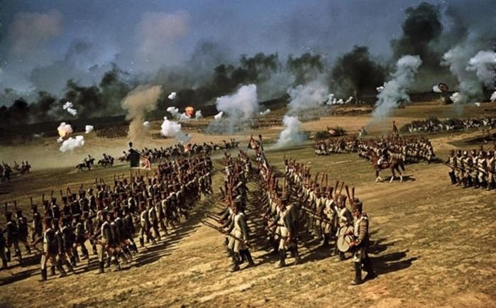 Как проходили съемки фильма «Война и мир»