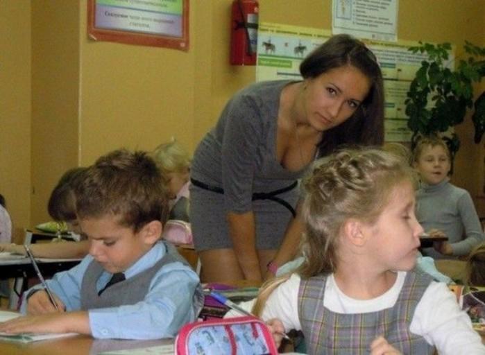 Симпатичные учительницы— фотографии