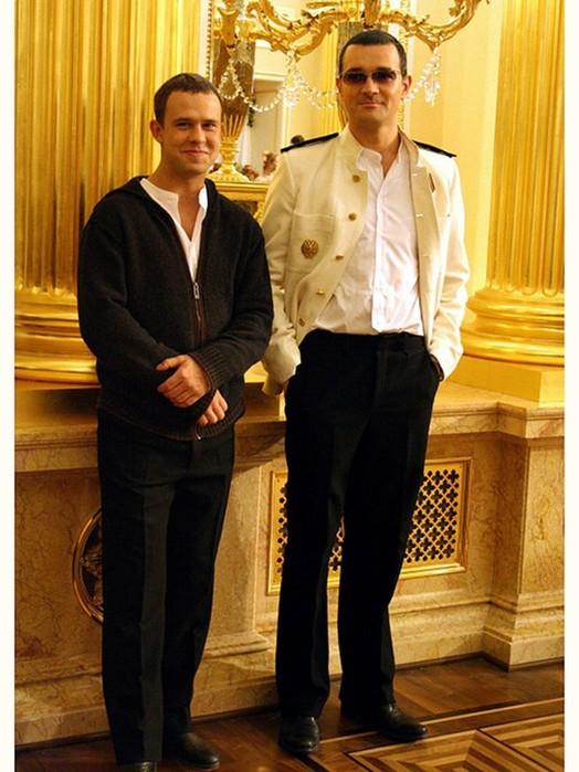 Самые высокие российские и западные знаменитости