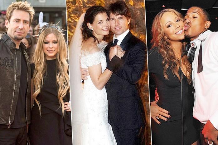 Знаменитости, которые сыграли быструю свадьбу с едва знакомыми людьми