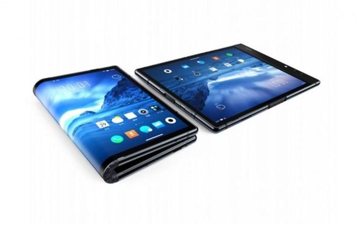 FlexPai: в Китае представили первый в мире по настоящему гибкий смартфон