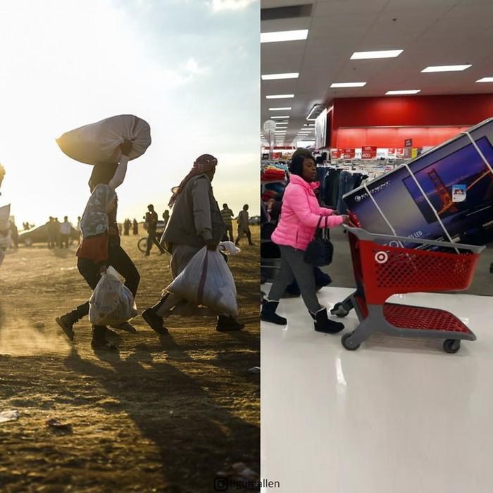 Пропасть между двумя мирами глазами турецкого фотографа