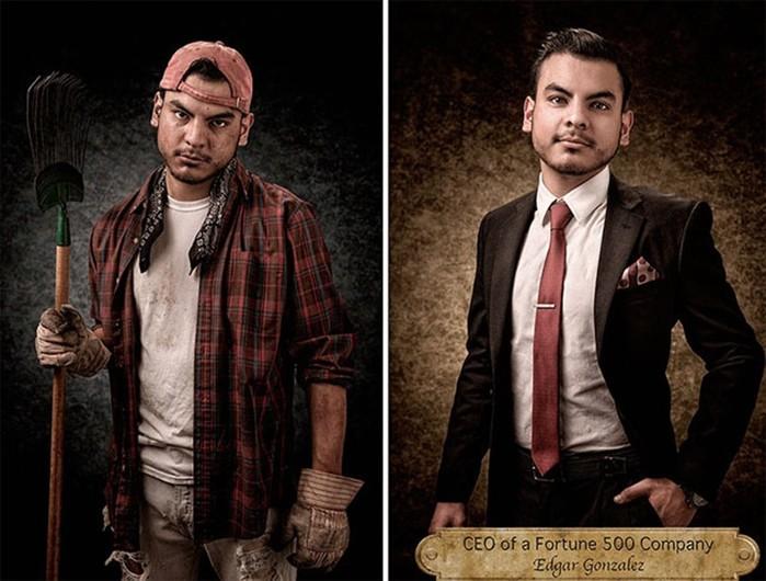 Предрассудки и стереотипы Америки на портретах людей