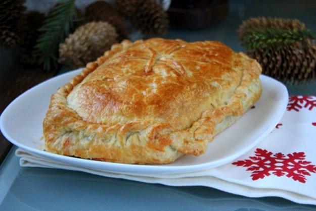 Пирог с лососем и шпинатом: как приготовить
