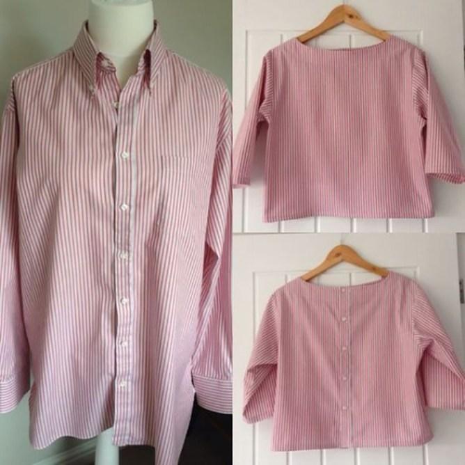 Что можно сделать из старой рубашки
