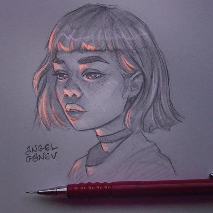 Художник пишет картины, которые светятся изнутри