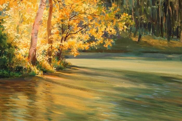 Осенние пейзажи Марии Владимировны Вишняк