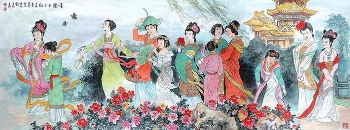 Китайские девы. Классика и современность