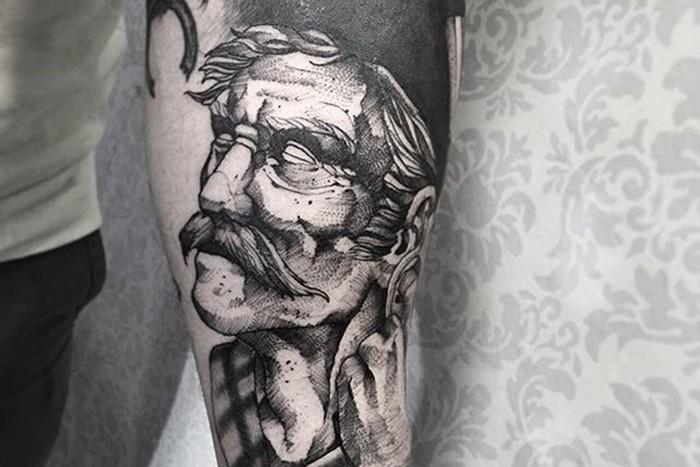 Поразительные татуировки бразильского мастера