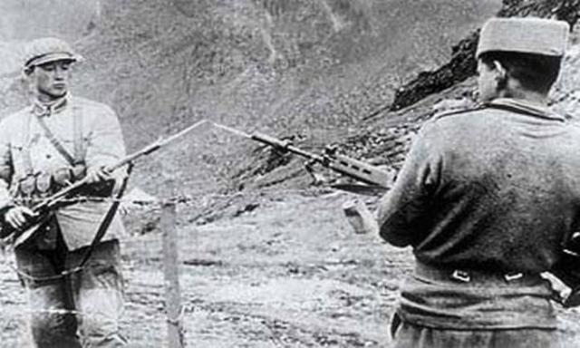Битва солдатів на кордоні