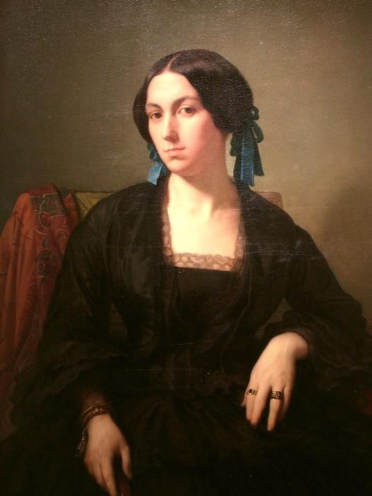 Французский художник Жан Ипполит Фландрен