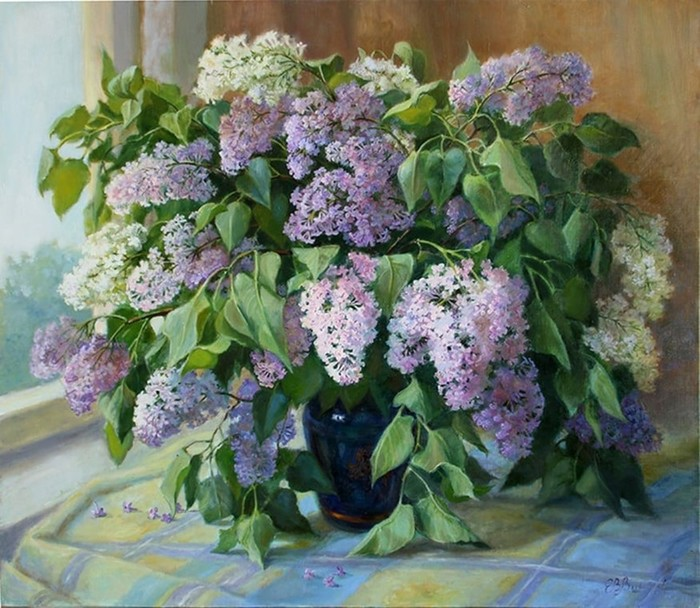 Уютные натюрморты Елены Шумаковой