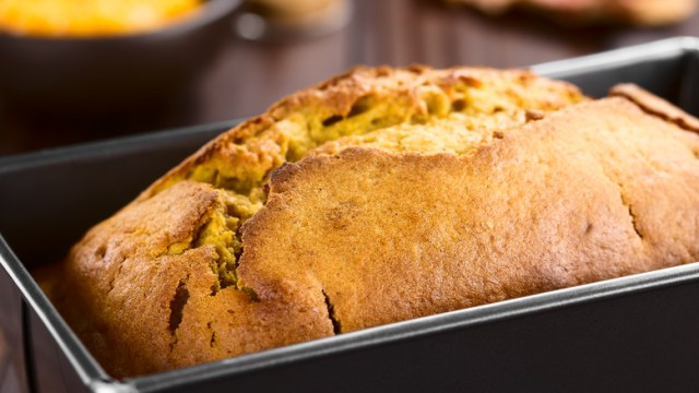 homemade quick bread loaf