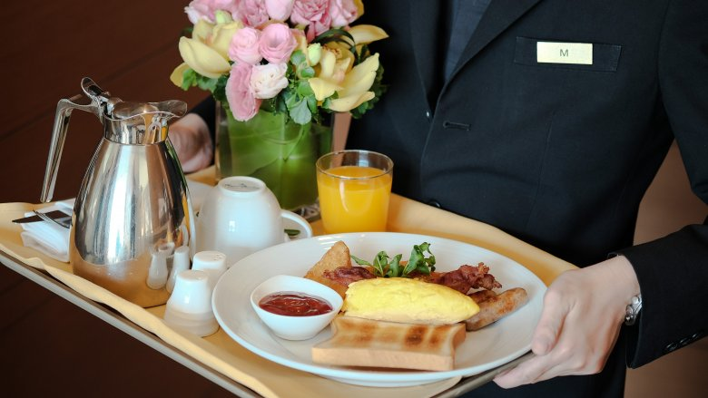 The Worst Things To Order From Hotel Room Service