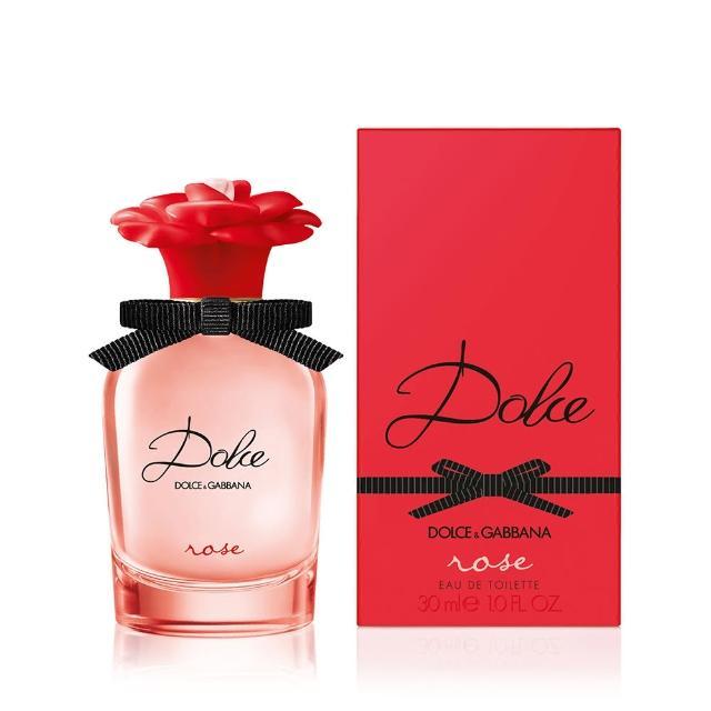 【DOLCE&GABBANA 杜嘉班納】D&G Dolce Rose 傾心花園淡香水 30ml(原廠公司)