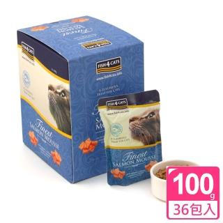 【海洋之星FISH4CATS】海藻精華鮭魚慕斯-六盒裝(貓用)