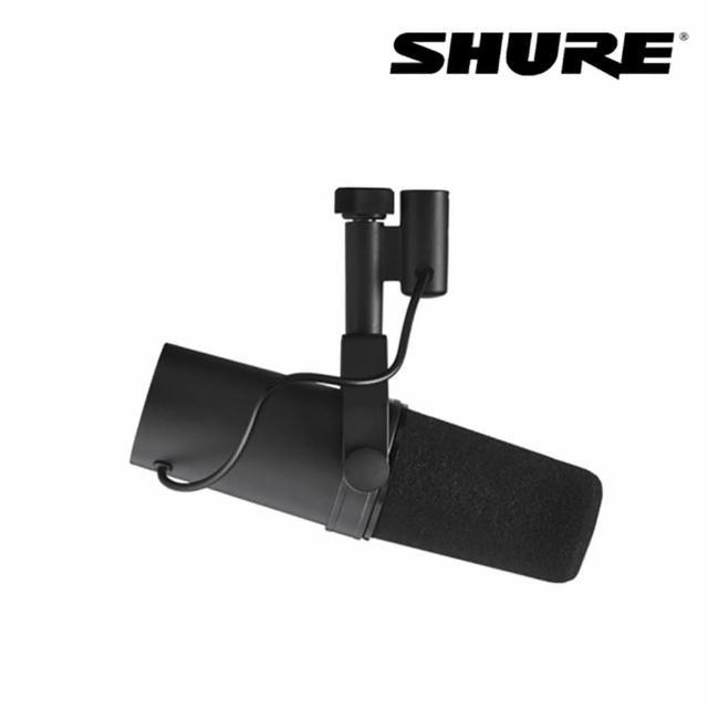 【SHURE】SM7B 錄音室麥克風(原廠公司貨 商品保固有保障)