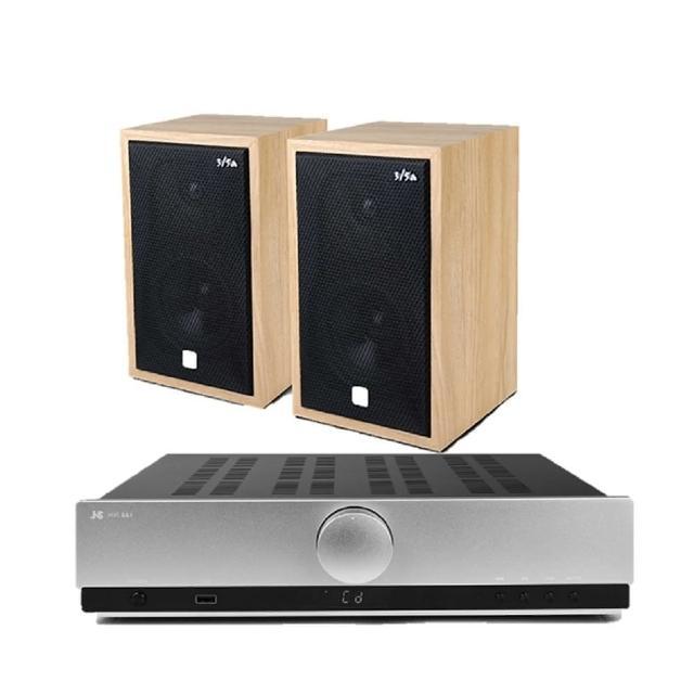 【JS 淇譽】SA1 無線藍芽綜合擴大機+3/5a 經典複刻Hi-Fi 書架音箱