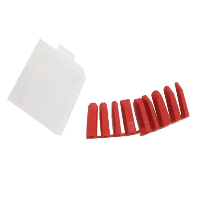 矽利康縫隙刮刀 補充包 台灣製ORX(矽力康抹刀 填縫膠 工具 整平玻璃膠 矽膠)