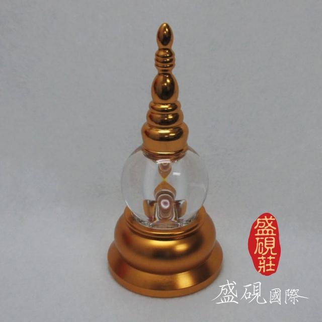 【盛硯莊佛教文物】大葛當舍利塔(水晶黃金舍利塔)