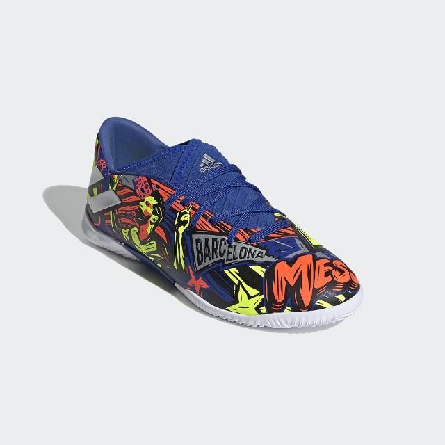 【adidas官方旗艦館 】童鞋 NEMEZIZ MESSI 19.3 室內足球鞋 男童(EH0600)