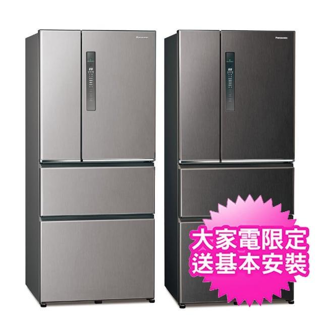 【夏日有禮賞★Panasonic 國際牌】610公升變頻無邊框鋼板四門冰箱(NR-D611XV)
