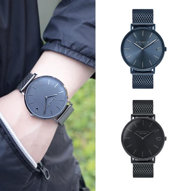 【COACH】紳士經典米蘭男錶(共4款)