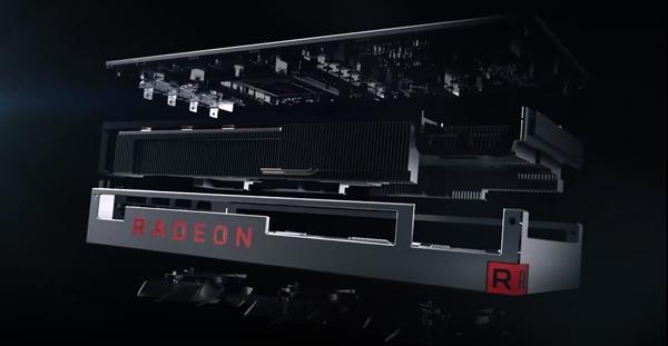 AMD 7nm Navi显卡猛料:频率功耗未达预期 明年上专业卡