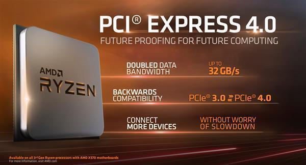 AMD首发 PCIe 4.0玩游戏到底有多大用?最多20%效能差距