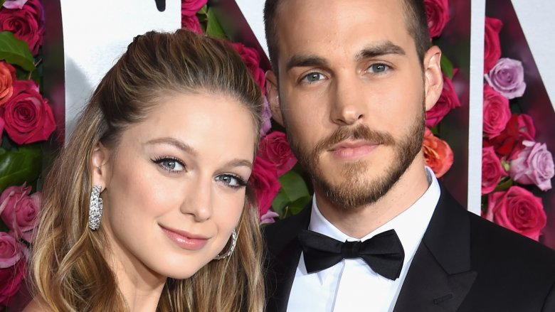 Supergirl stars Melissa Benoist and Chris Wood