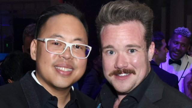 Nico Santos and Zeke Smith