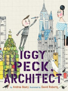 Cover of Iggy Peck, Architect