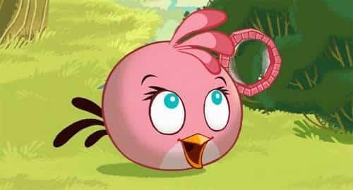 Pink de Angry Birds
