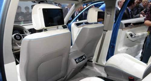 Carro da Volks com iPad mini