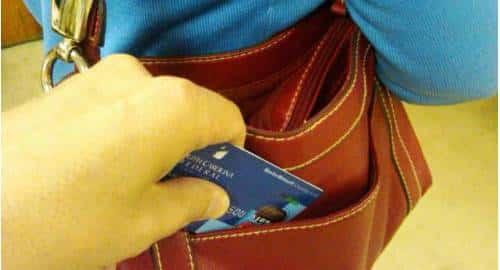 roubo cartão