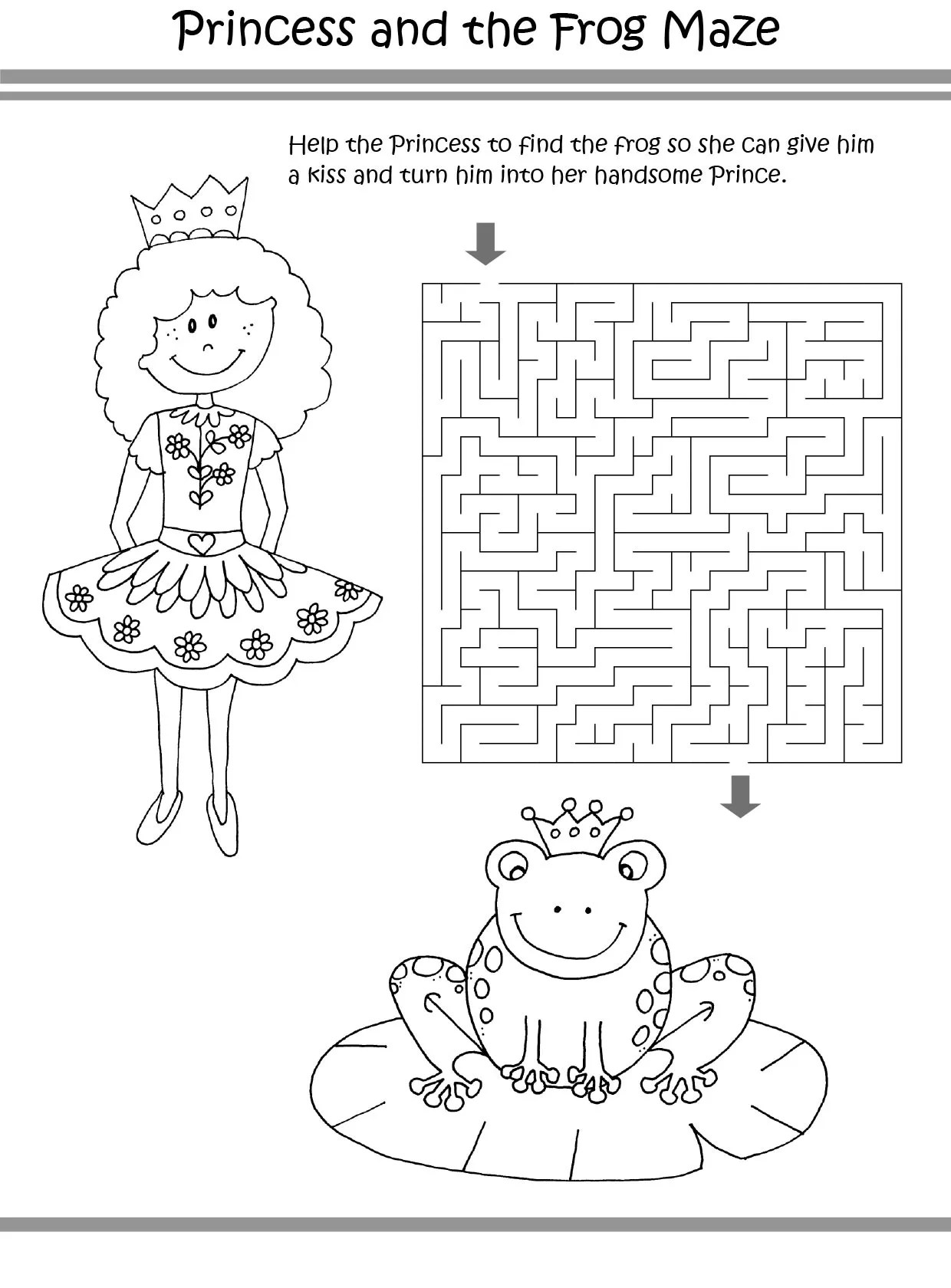 Free Maze Puzzles Coloring Pages Printable Maze Puzzles
