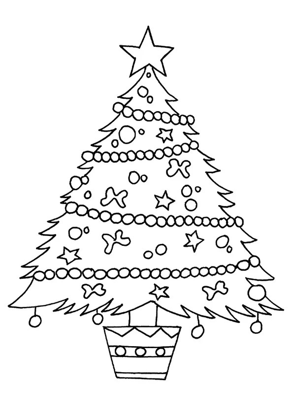 Parentune Free Printable Christmas Trees Coloring Pages Christmas Trees Coloring Pictures For Preschoolers Kids