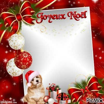Cadre Noel Picmix