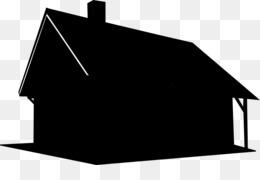 Atap Rumah Hitam Dan Putih Gambar Png