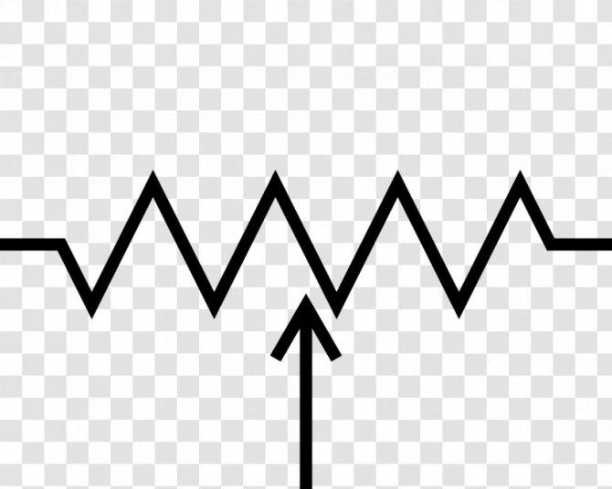 potentiometer electronic symbol wiring diagram circuit