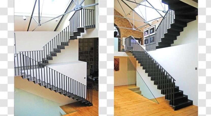 Stairs Metal Stair Riser Steel Tread Floating Transparent Png | Metal Stairs With Wood Treads | Straight Steel | Single Steel Stringer | I Beam | Metal Railing | Timber