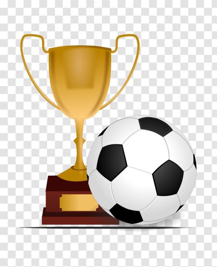 UEFA Champions League FIFA World Cup Trophy Football Clip ...