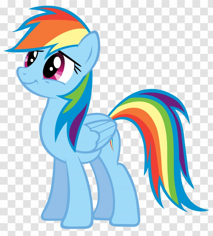 Rainbow Dash My Little Pony Drawing Horse Like Mammal Transparent Png