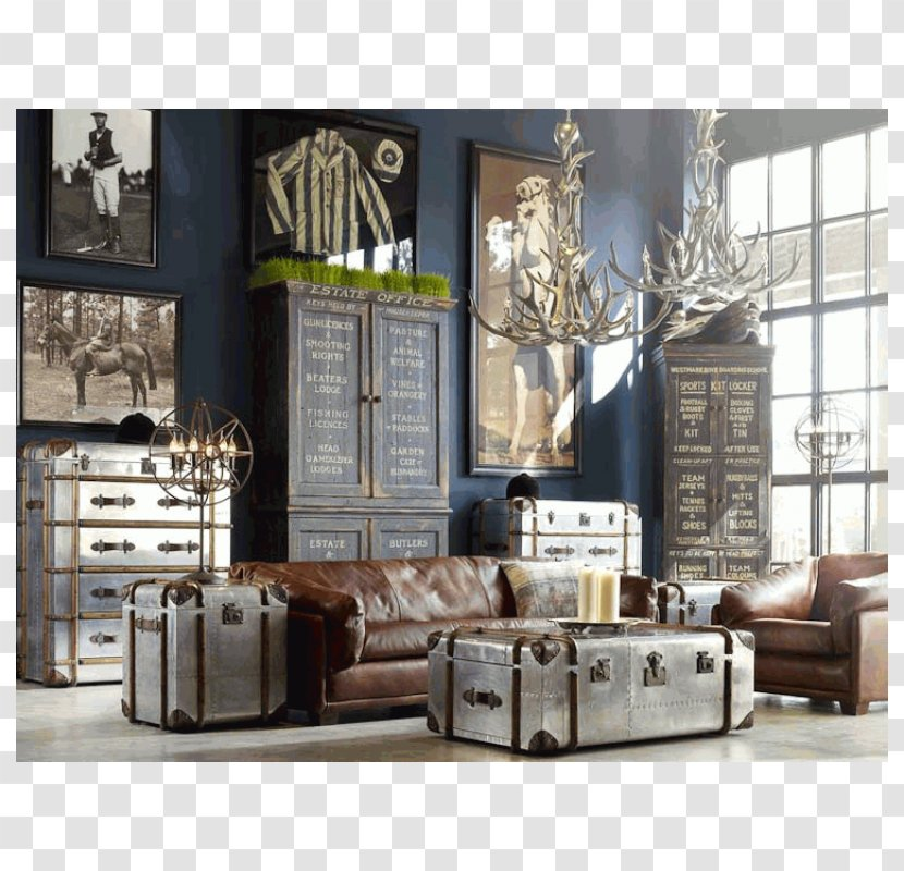 Table Industrial Style Living Room Interior Design Services Antique Furniture Transparent Png