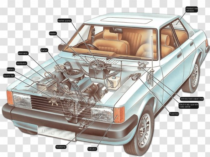 car electric power system wiring diagram electricity ampere