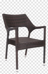 Table Chair Resin Wicker Dining Room Restaurant Rattan Furniture Transparent Png
