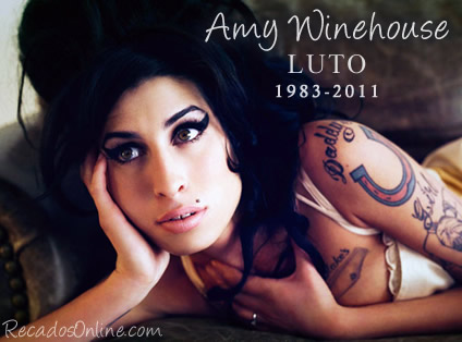 Recado Para Orkut - Amy Winehouse: 1