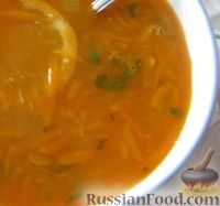 Фото к рецепту: Мамин суп из чечевицы