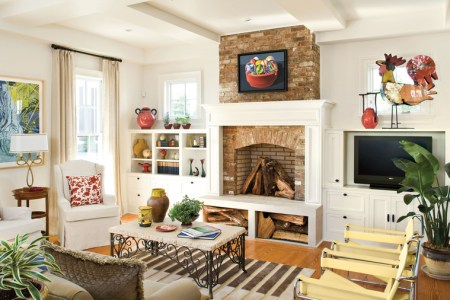106 Living Room Decorating Ideas   Southern Living Add Architectural Interest